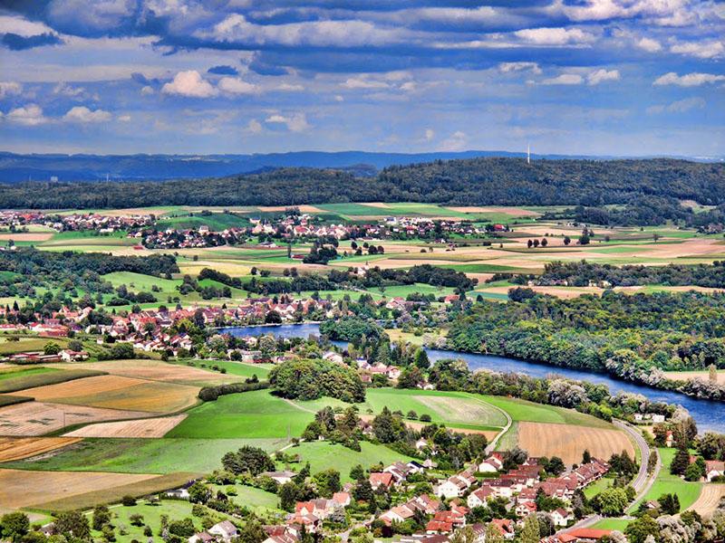 布辛根鳥瞰圖 圖片來源:Panoramio