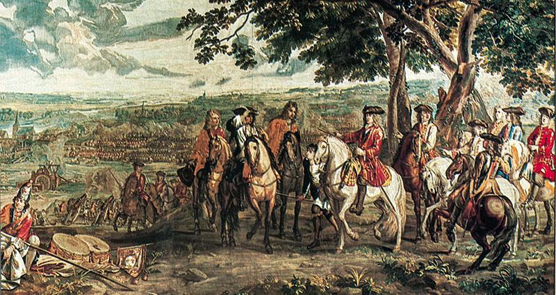 西班牙王位繼承戰爭(1701 - 1714) 圖片來源:Athanasius Contra Mundum