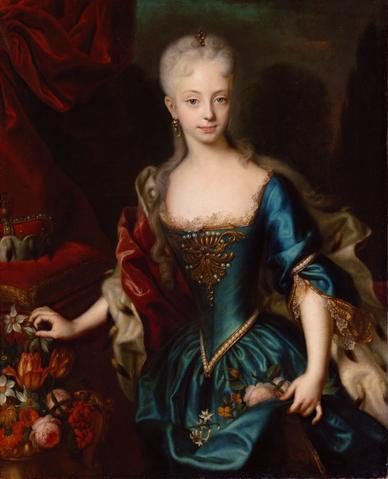 年輕的瑪麗亞.特蕾莎 圖片來源:Wikimedia Commons