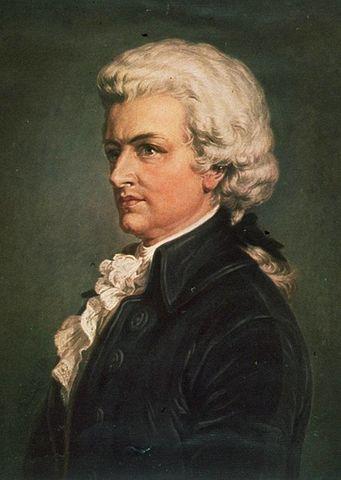 莫扎特 圖片來源:Wikimedia Commons