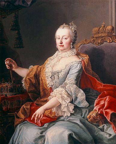 瑪麗亞.特蕾莎 圖片來源:Wikimedia Commons