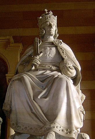 魯道夫一世 圖片來源:Wikimedia Commons