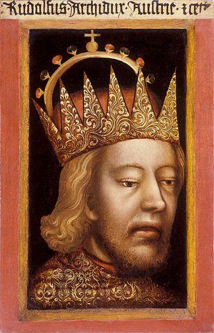 自稱「奧地利大公」的魯道夫四世 圖片來源:Wikimedia Commons