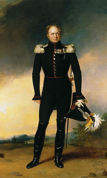俄羅斯沙皇亞歷山大一世 圖片來源:Wikimedia Commons
