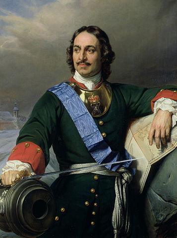 「全俄羅斯的皇帝」彼得大帝 圖片來源:Wikimedia Commons