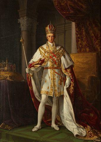 第一位奧地利帝國皇帝弗朗茨一世 圖片來源:Wikimedia Commons