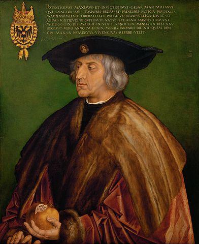 馬克西米利安一世 圖片來源:Wikimedia Commons