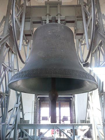 位於奧地利維也納聖史堤芬大教堂的吊鐘 圖片來源:Wikimedia Commons