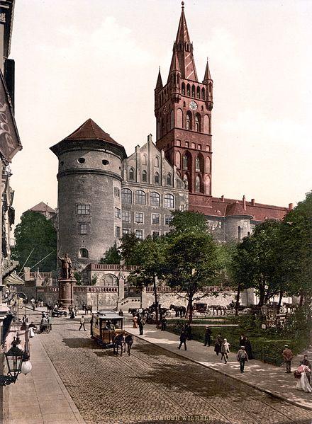 1895年的柯尼斯城堡 圖片來源:Wikimedia Commons