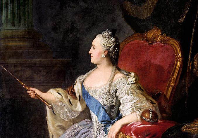 凱薩琳大帝(葉卡捷琳娜二世) 圖片來源:Wikimedia Commons
