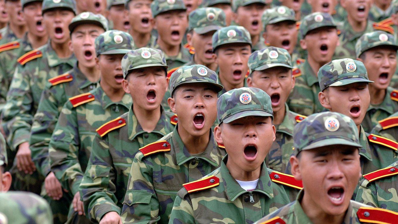 中國增加軍費開支