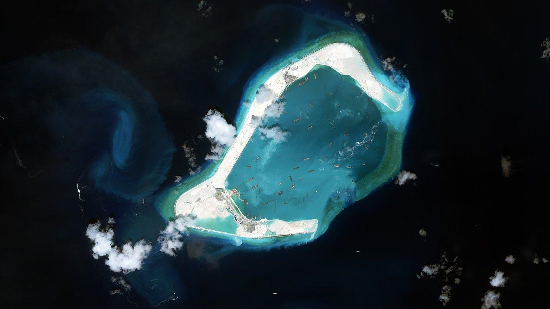 美國警告中國在南海的軍事擴張