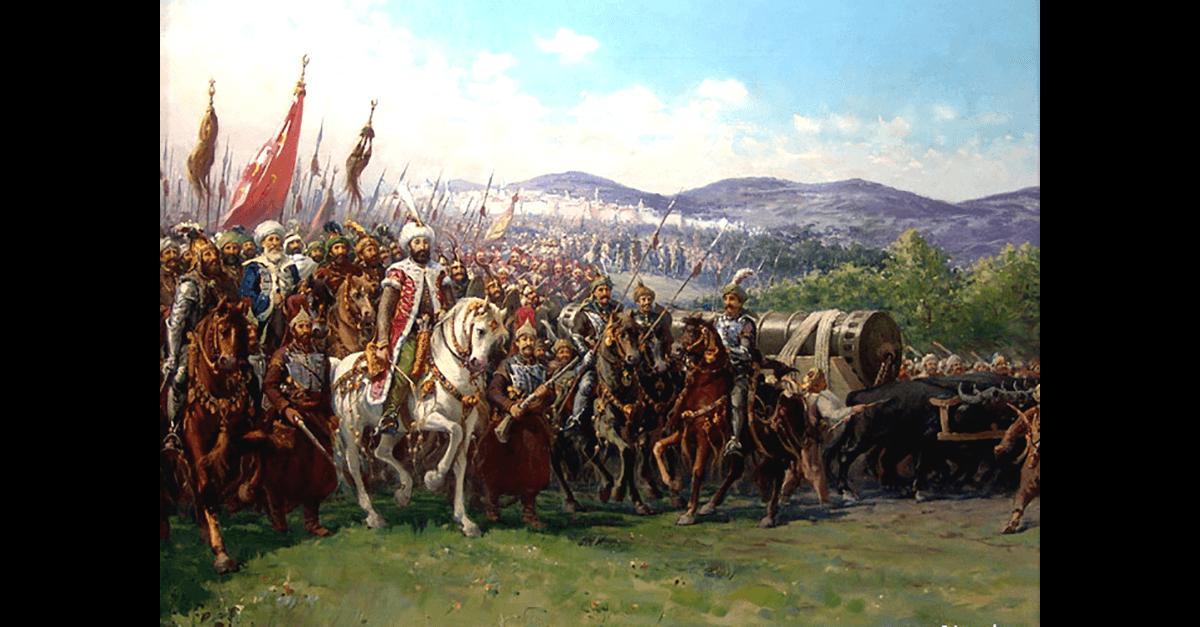 攻陷君士坦丁堡