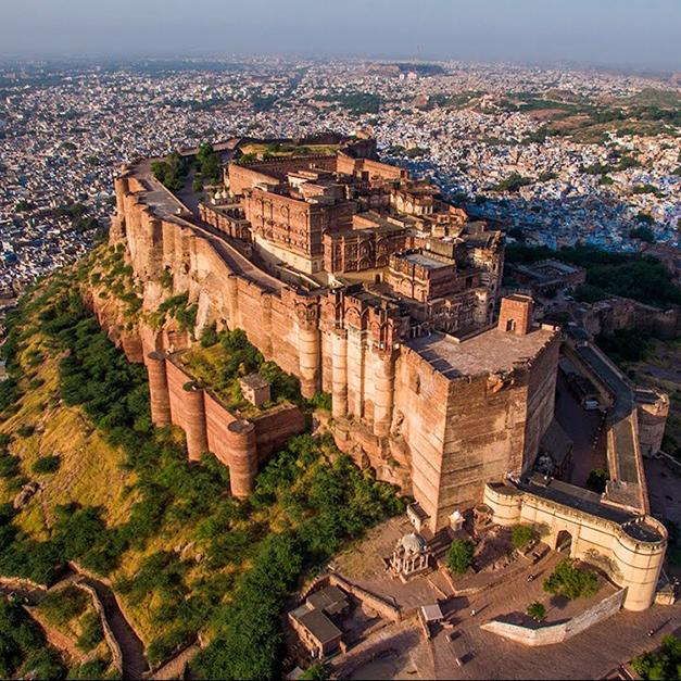 被詛咒的城堡-印度梅蘭加爾城堡