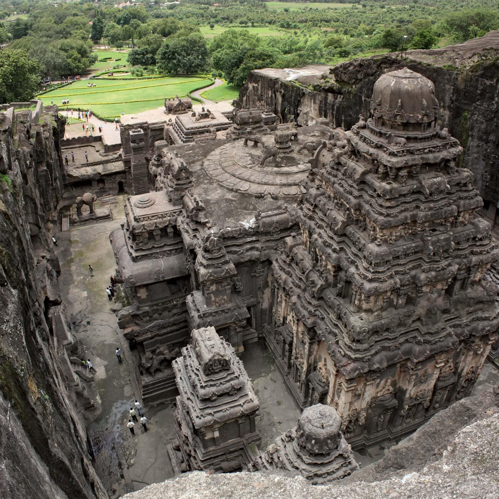獻給濕婆的禮物-印度凱拉薩神廟